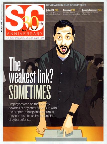 SC Magazine - U.S. edition Cover - 3/1/2019