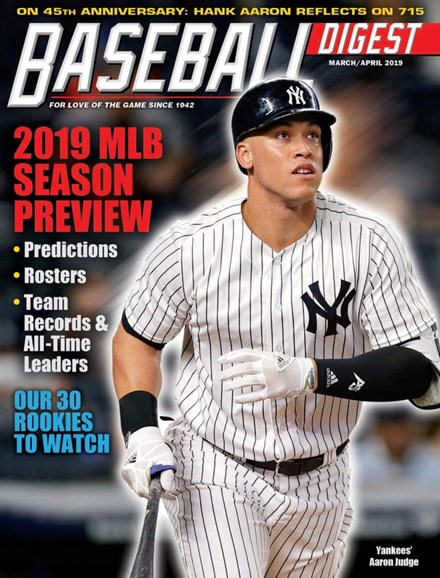 Baseball Digest Cover - 3/1/2019