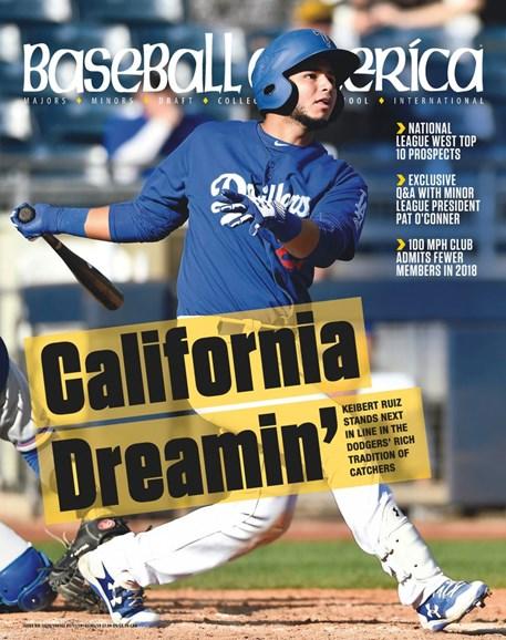 Baseball America Cover - 1/11/2019