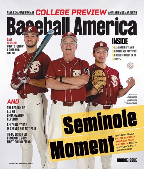 Baseball America Cover - 2/1/2019