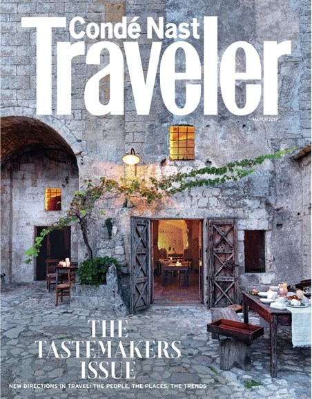 Condé Nast Traveler Cover - 3/1/2019