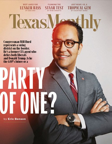 Texas Monthly Cover - 4/1/2019