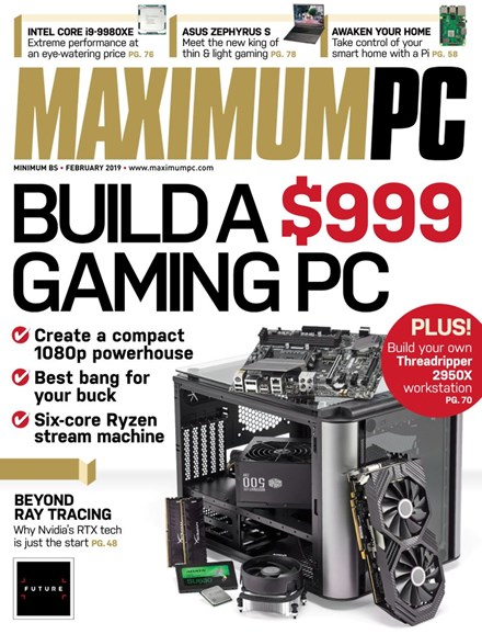 Maximum PC Cover - 2/1/2019