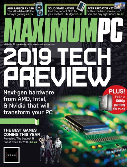 Maximum PC Cover - 1/1/2019