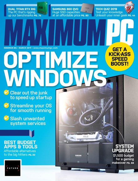 Maximum PC Cover - 3/1/2019