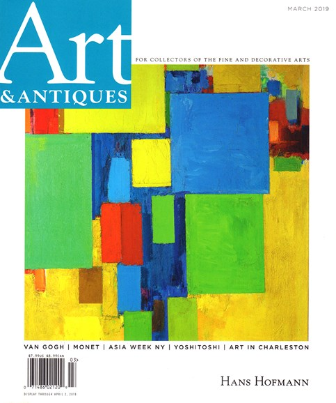 Art & Antiques Cover - 3/1/2019