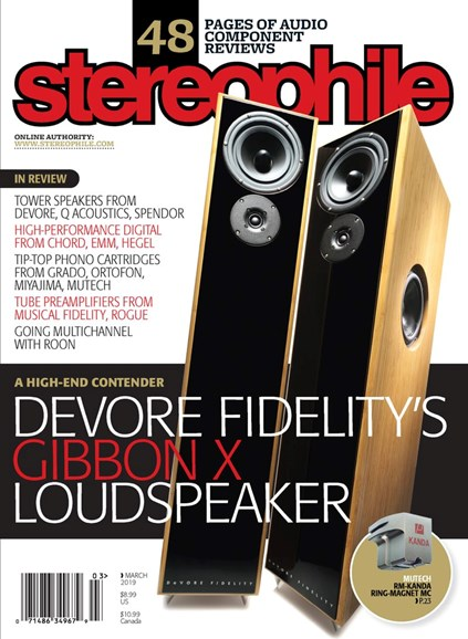 Stereophile Cover - 3/1/2019