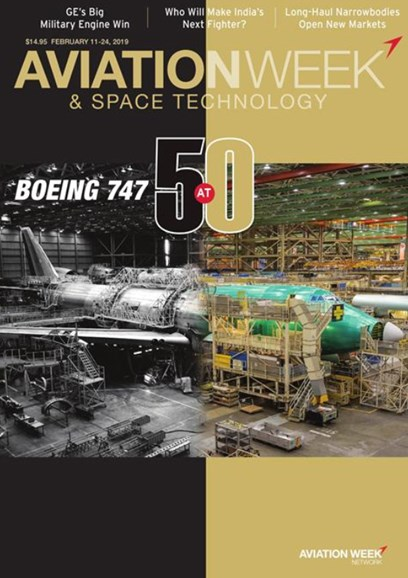 Aviation Week & Space Technology Cover - 2/11/2019