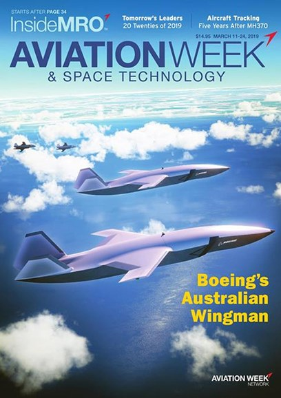 Aviation Week & Space Technology Cover - 3/11/2019