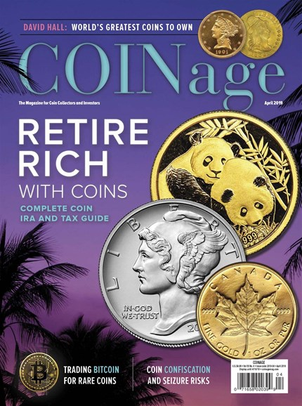 Coinage Cover - 4/1/2019