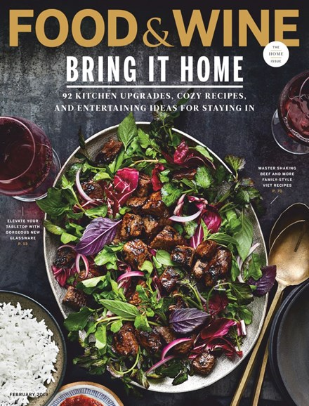 Food & Wine Cover - 2/1/2019