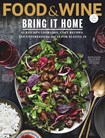 Food & Wine Magazine | 2/1/2019 Cover