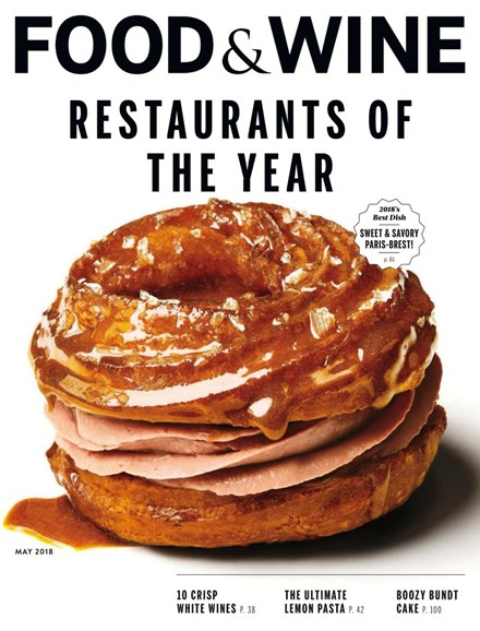 Food & Wine Cover - 5/1/2018