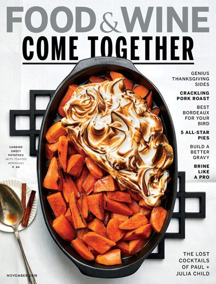 Food & Wine Cover - 11/1/2018