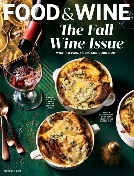 Food & Wine Cover - 10/1/2018