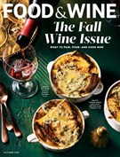 Food & Wine Magazine 10/1/2018