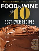 Food & Wine Magazine 9/1/2018