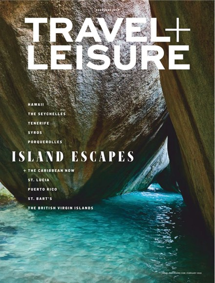 Travel + Leisure Cover - 2/1/2019