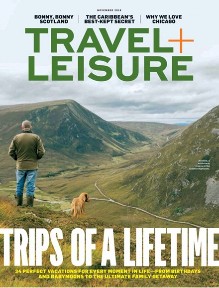 Travel + Leisure Cover - 11/1/2018