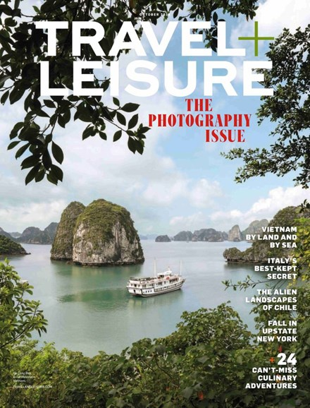Travel + Leisure Cover - 10/1/2018