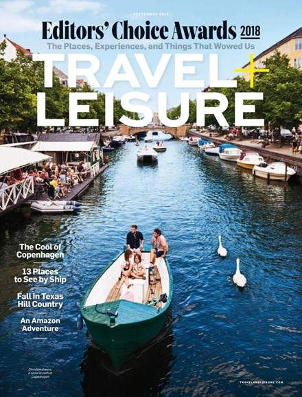 Travel + Leisure Cover - 9/1/2018