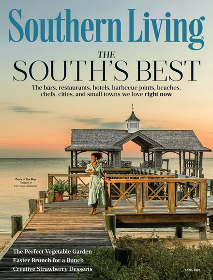 Southern Living Cover - 4/1/2019