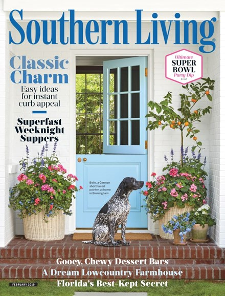 Southern Living Cover - 2/1/2019
