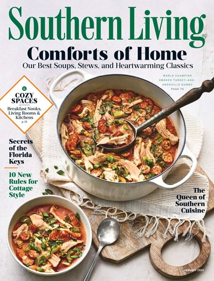 Southern Living Cover - 1/1/2019