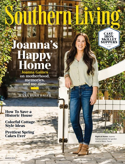 Southern Living Cover - 3/1/2019