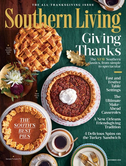 Southern Living Cover - 11/1/2018
