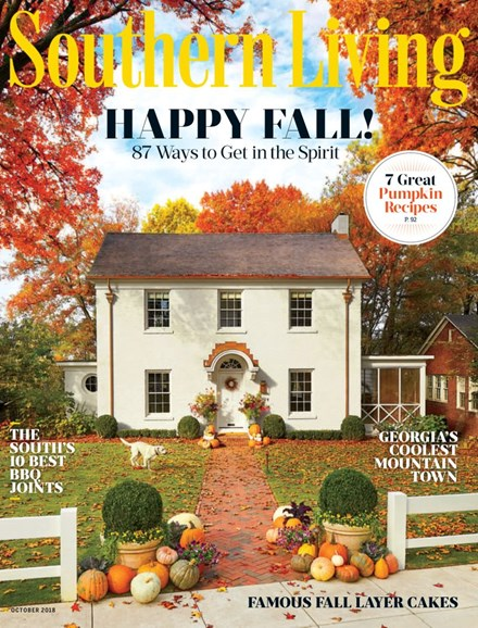 Southern Living Cover - 10/1/2018