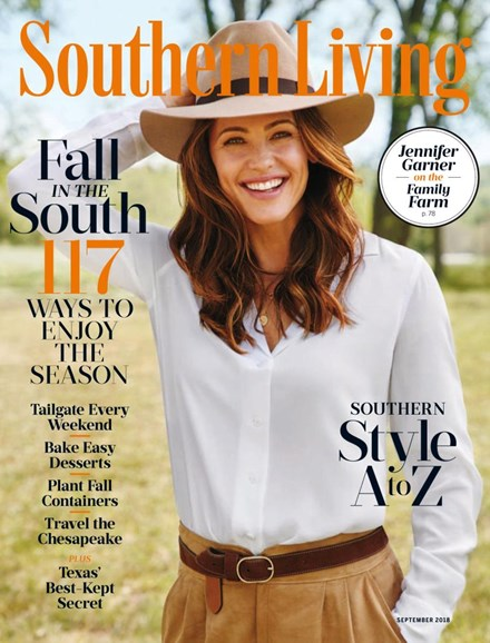 Southern Living Cover - 9/1/2018