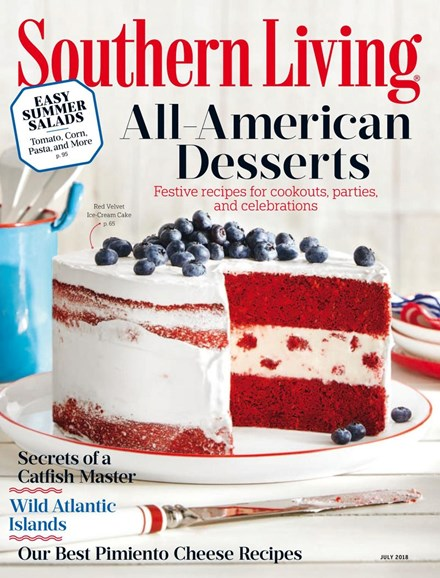 Southern Living Cover - 7/1/2018