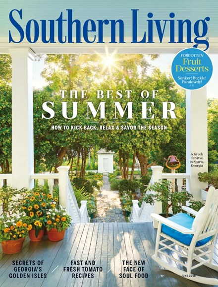 Southern Living Cover - 6/1/2018