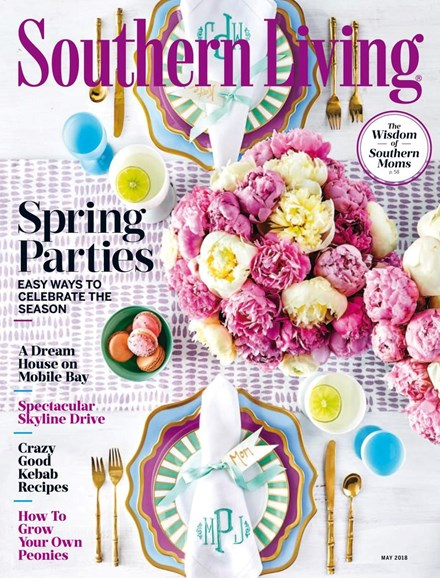 Southern Living Cover - 5/1/2018