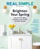 Real Simple Magazine 4/1/2019