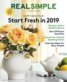 Real Simple Magazine 1/1/2019