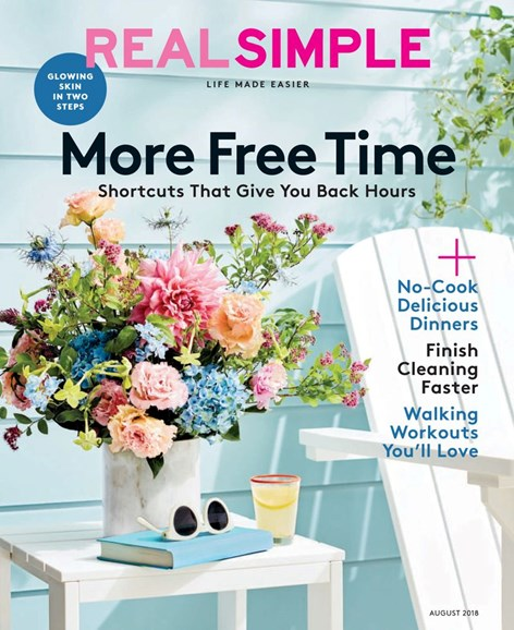 Real Simple Cover - 8/1/2018