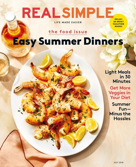 Real Simple Cover - 7/1/2018