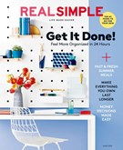 Real Simple Magazine 6/1/2018