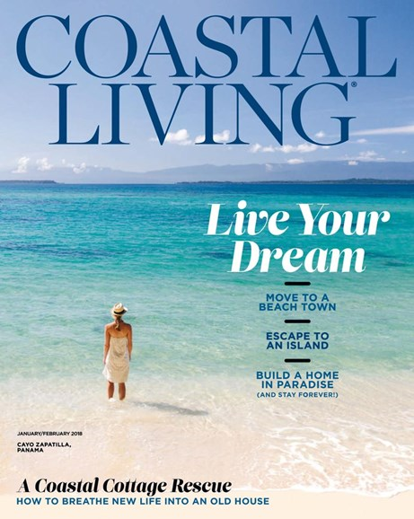 Coastal Living Cover - 1/1/2018
