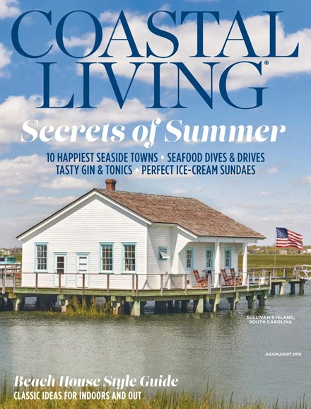 Coastal Living Cover - 7/1/2018