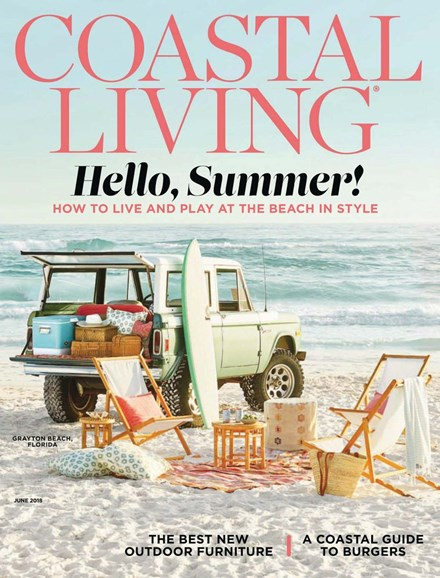Coastal Living Cover - 6/1/2018