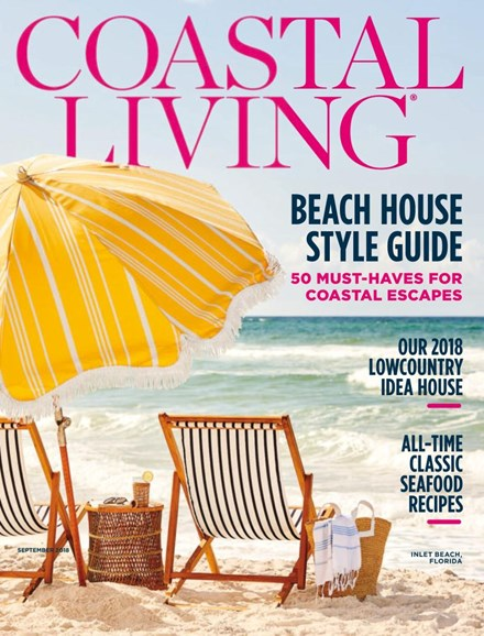 Coastal Living Cover - 9/1/2018