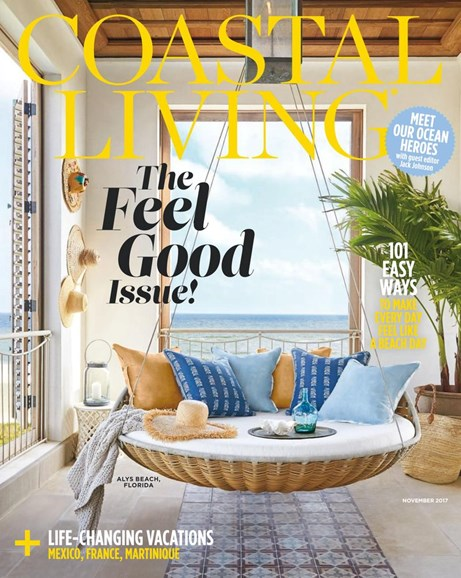 Coastal Living Cover - 11/1/2017