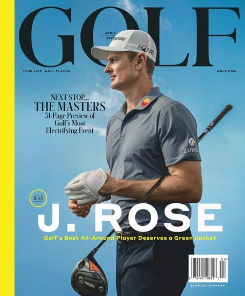 Golf Magazine Cover - 4/1/2019