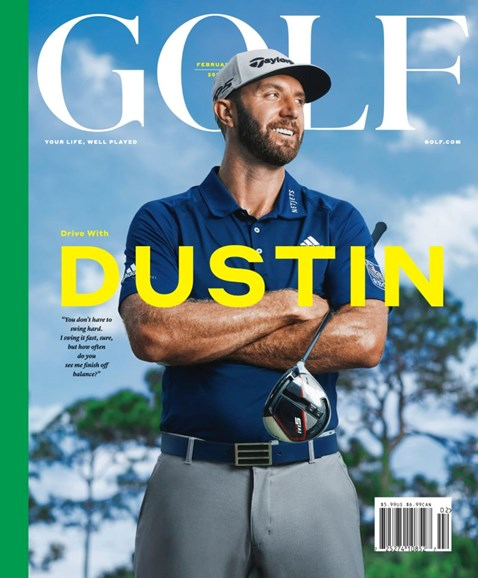 Golf Magazine Cover - 2/1/2019