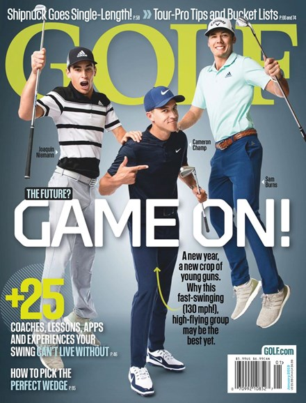 Golf Magazine Cover - 1/1/2019