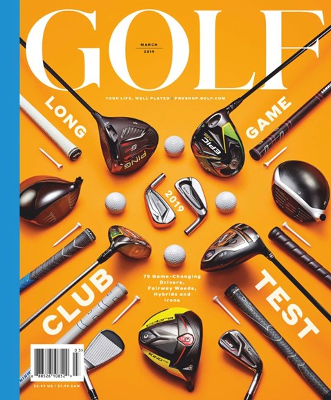 Golf Magazine Cover - 3/1/2019