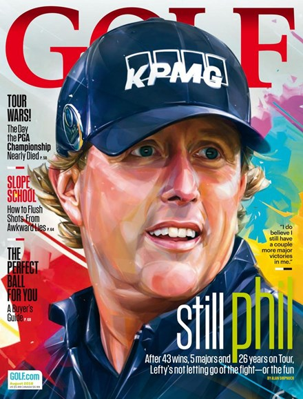 Golf Magazine Cover - 8/1/2018